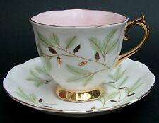 Vintage década de 1970 Royal ALBERT tazas y platillos de Té de patrón de Braemar-Mira en en muy buena condición