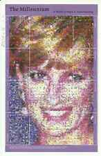 Timbres Lady Diana Gambie 2954A/H ** année 1999 lot 19502