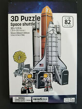 Daiso 3d Puzzle Space Shuttle Easy to Assemble Ages 6