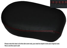 B RED DS ST CUSTOM FITS YAMAHA XVS 650 CLASSIC V STAR LEATHER REAR SEAT COVER