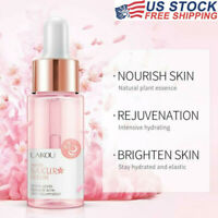 Face Serum Hydrating Essence Sakura Oil, Acne Reducing Pores Anti-aging Cream
