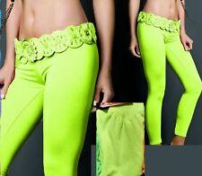SeXy Miss Damen Hüft Leggings Strumpfhosen Style 34/36/38 Freesize neon gelb Neu