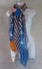 Collection XIIX New Womens Square Shawl/Wrap Scarf, Blue Fruit Multi, One Size