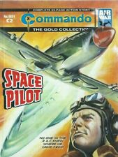 SPACE PILOT,COMMANDO THE GOLD COLLECTION,NO.4924,WAR COMIC,2016