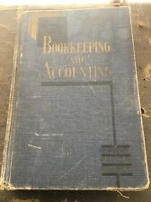Bookkeeping and Accounting Volume 1 McKinsey James Oscar VTG BOOK 1933 1939