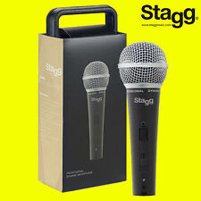 Stagg SDM50 Professional High Quality Handheld Wired Dynamic DJ Microphone