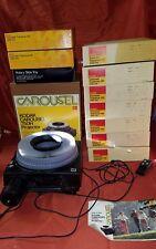 Kodak Carousel Slide Projector 750H w/Zoom With Box 10 Trays