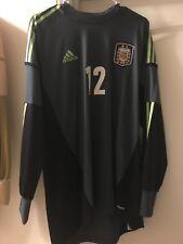 Argentina adidas player goalkeeper 12 Benitez jersey Soccer afa