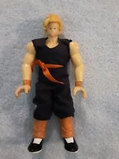 1996 Dragon ball Z action Figure Blonde Hair Blue Outfit