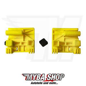 1x Window Reparaturssatz Renault Scenic Laguna Rear Right and Left Yellow