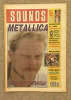 SOUNDS Magazine -12 May 1990 - METALLICA, Billy Idol, James, Nirvana, The Cure