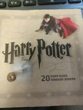 Vintage Harry Potter 20 First Class Forever Stamps Brand New 2013 Edition