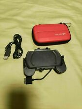 PSP Go Red Case and Rechargeable PSP Hand Grip (Super Rare Collector's Item)