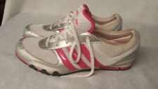 Adidas Womens 10 M Training Running Sneaker Shoes White Pink Mesh Fit Foam