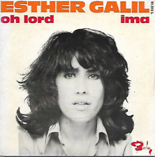 """ESTHER GALIL - Oh Lord - 7"""" - Barclay -61.513L - 1971 - Pop Rock - FR"""