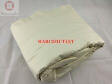 Hotel Collection Solid 525 Thread Count Egyptian Cotton FULL Sheet Set Ivory
