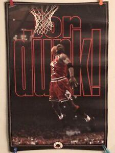 Vintage 1993 Nike Michael Jordan JORDUNK Poster Nike Ink #5348