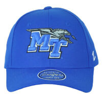 NCAA Zephyr Middle Tennessee Blue Raiders Adjustable Curved Bill Adults Hat Cap
