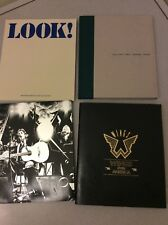 PAUL MCCARTNEY Lot : WINGS OVER AMERICA Set of Books and CDs