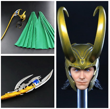 Toy era 1/6 Loki Tom Hiddleston The Avengers : The Thor Head Clothes set 12 in