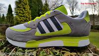 Adidas Originals Mens ZX 850 Fashion Trainers Grey Yellow & White BNIBWT UK 6-12