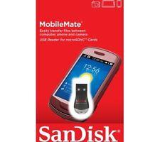 SanDisk SDDR-121-G35 Memory Card Reader MobileMate USB MicroSD Black-UK