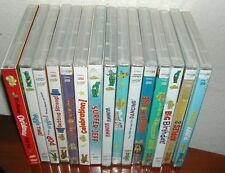 Lot of 15 Wiggles Dvd Wiggles House Wiggle Time Dancing  Apples & Bananas  New