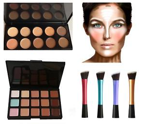 Concealer Face Makeup Camouflage Neutral Contour Palette Kit