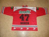 Kölner Haie KEC Original Trikot 1998/99 + Nr.47 Miner + Handsigniert Gr.XXL TOP