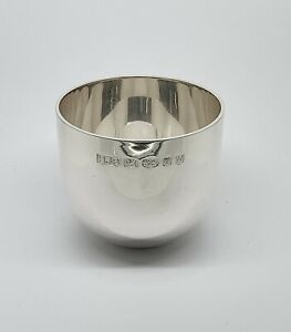 Solid Sterling Silver tumbler Cup Heavy Gauge  - Brand NEW