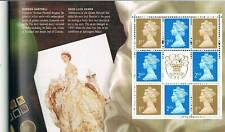 Gran Bretaña. Carnet don sellos y motivos Coronación Isabel II