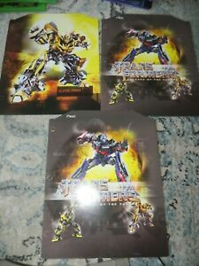 Transformers revenge of the fall Folders Lot of 3  MEAD NEW