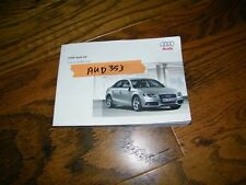 2009 Audi A4 owners manual Aud353