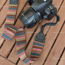 Kameragurt Textil Gurt ausgefallenes Motiv verstellbar für DSLR Kamera