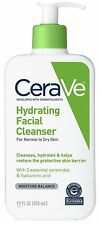 CeraVe Hydrating Facial Cleanser, for Normal Skin to Dry Skin, 12 fl oz