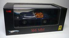 Mattel P9939 Ferrari 166 mm Barchetta Blue 1/43 Modellino