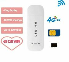 USB Router LTE 3G 4G Wifi Wireless Car Modem Stick Data Hotspot Sim Card Dongle