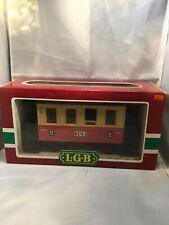 LEHMANN LGB G-Scale 3011 Red 2nd Class Passenger Car Train #2 Germany