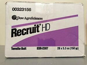Recruit HD RTI Termite Bait Pesticide 28 Stations - CASE LOT