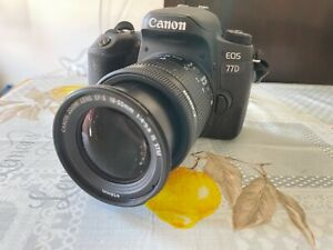Canon EOS 77D 24.2MP Fotocamera Digitale (Kit con EF-S 18-55mm 1:4-5.6 IS STM