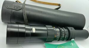Vintage M42 Pentax mount SUN 400mm F/6.3 Telephoto Lens in EXCELLENT condition