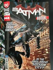 Batman Annual 3 2018 Main Cover DC Comics NM Taylor Schmidt