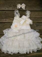 Flower Girl Dress-Lace Flower girl dress-Baby Lace Dress-Rustic-Country girl