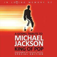 Black Gospel Tribute to Michael Jackson by Joyous Voices (CD, Apr-2010)