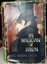 THE MAGICIAN OF LUBLIN Isaac Bashevis Singer 1st Ed. Secker & Warburg 1961