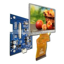"3.5"" TFT LCD Module Display,Optional Touch Screen,QVGA 240x320 w/Video AV Board"