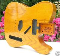 Corps Telecaster Lic. Fender Musikraft Frene US Vernis ADP 2Pieces Ash Tele Body