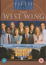 THE WEST WING - Series 5. Martin Sheen, Stockard Channing (6xDVD BOX SET 2007)