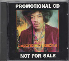 HENDRIX CD THE BEST OF EXPERIENCE HENDRIX   CD PROMO