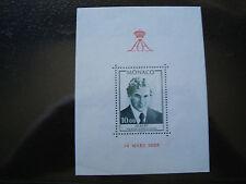 MONACO - timbre - yvert et tellier bloc n° 16 n** (Z2) stamp monaco